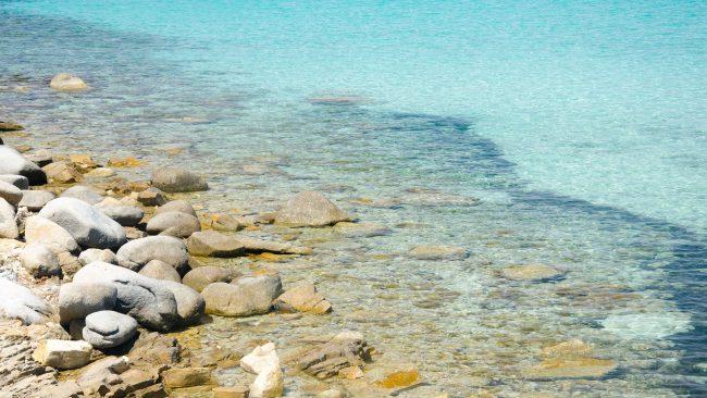 Playa de Mari Pintau, Cerdeña
