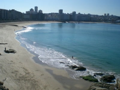 Playa del Orzán