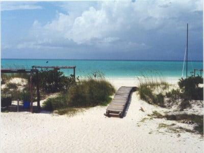 Playa El Pilar en Cuba