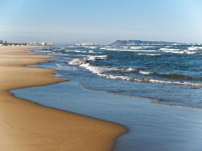 Playa Gandia en la Costa Brava