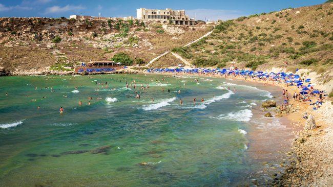 Playa Ghajn Tuffieha, Malta