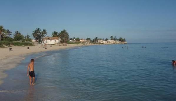 Playa Guanabo en Cuba