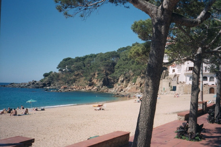 Playa Llafranc de la Costa Brava
