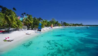 Playa Negril en Jamaica