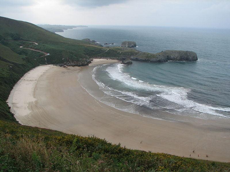 playas de Llanes playa Torimbia