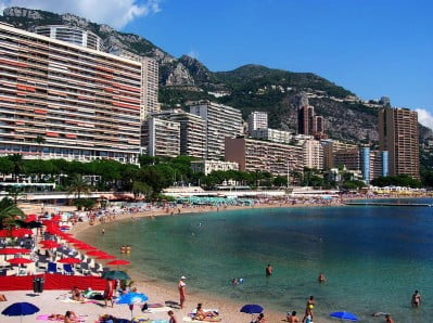 Playas de Mónaco