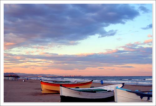Playas de valencia - Hoteles en la playa de la malvarrosa ...