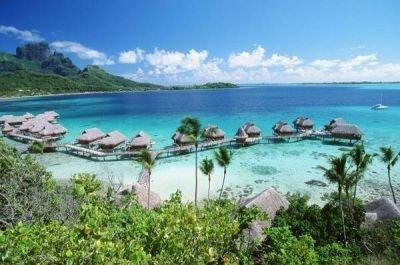 playas exóticas Bora Bora