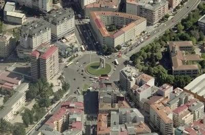 Plaza América de Vigo