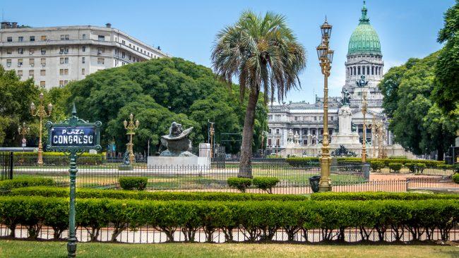 Plaza Congreso de Buenos Aires, Argentina