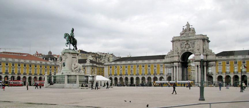 Plaza de Comercio de Lisboa