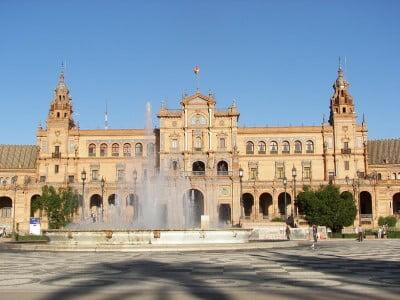Plaza de espa a sevilla for Ciudades mas turisticas de espana