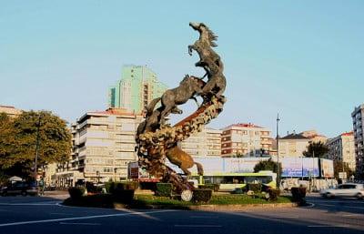 Plaza de España de Vigo