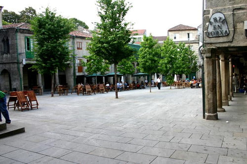 Plaza de la Verdura, Pontevedra