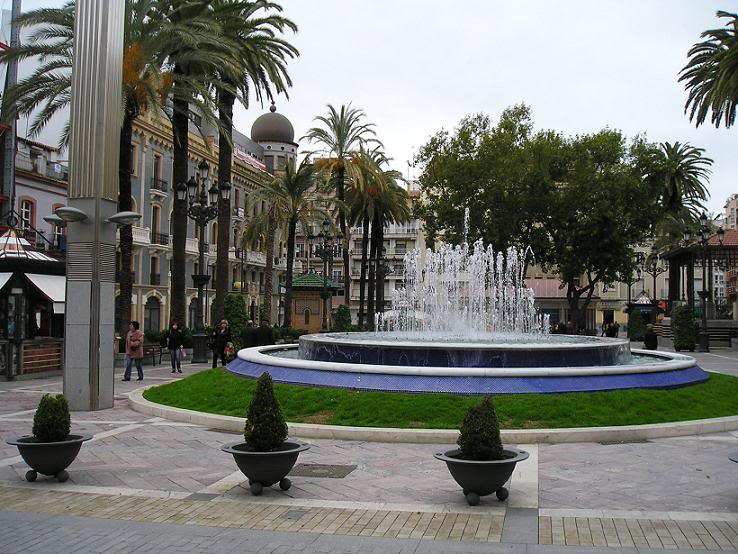 Plaza de las Monjas de Huelva