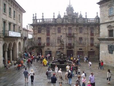 Plaza de las Platerías de Santiago