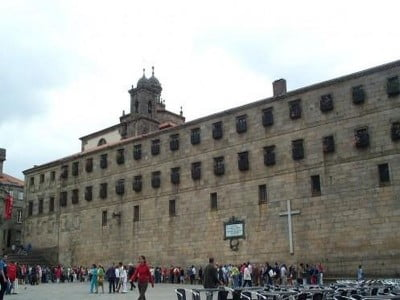 Plaza de Quintana en Santiago de Compostela