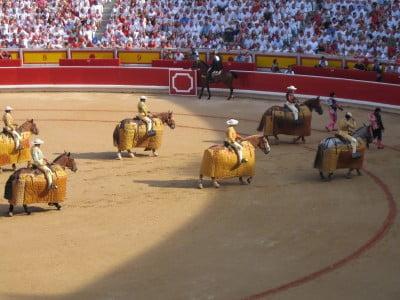 Plaza de toros en San Fermín