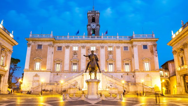 Plaza del Campidoglio, Roma