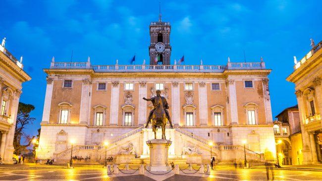 Campidoglio-Platz, Rom