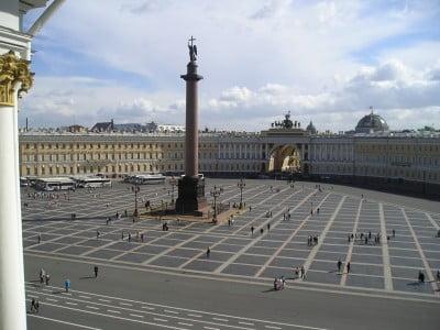 Plaza del Palacio en Rusia