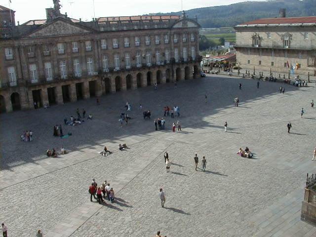 Plaza do Obradoiro