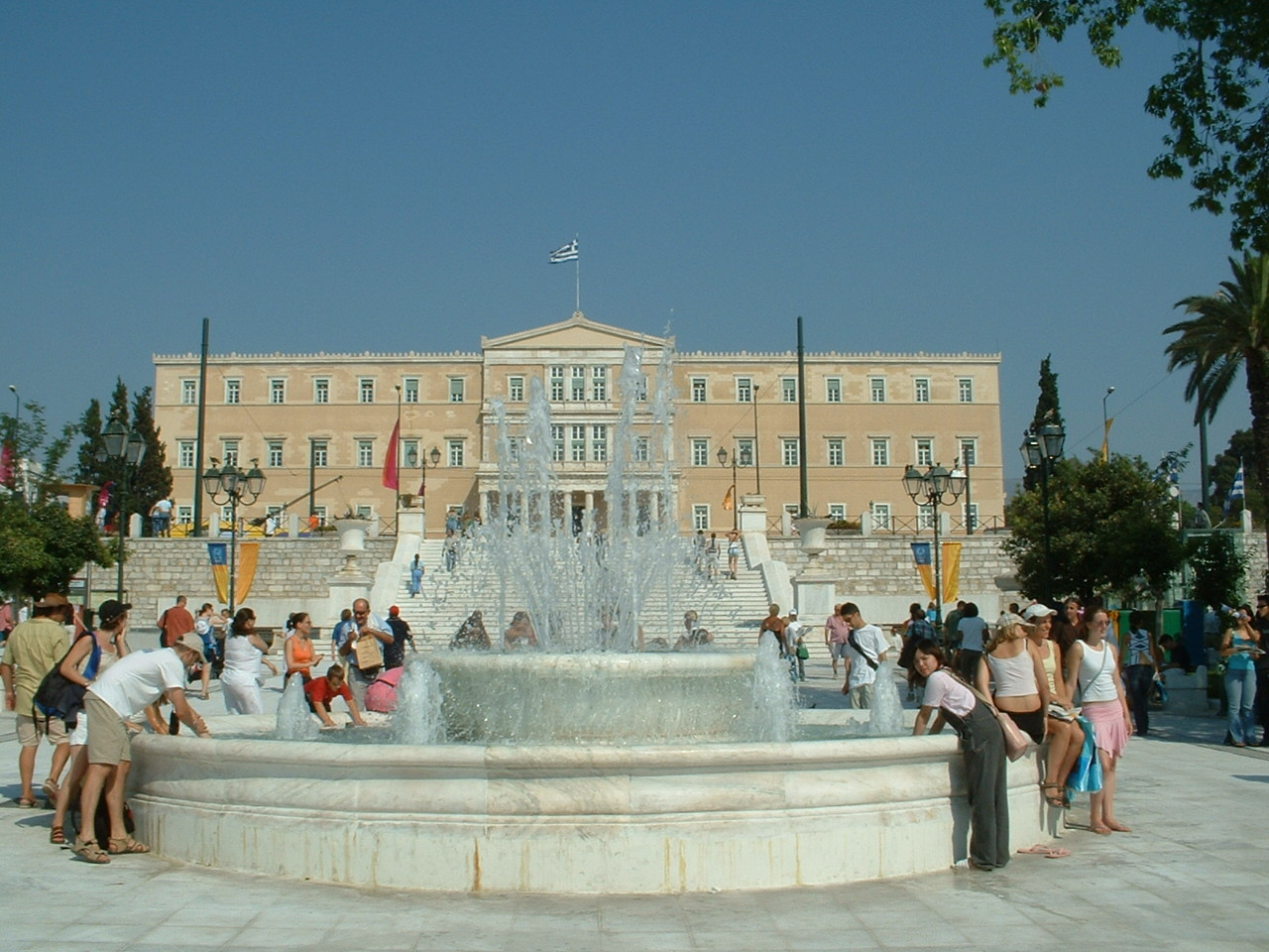 Plaza Syntagma en Atenas