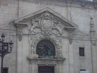 Portada de la Iglesia San Nicolás de Bilbao