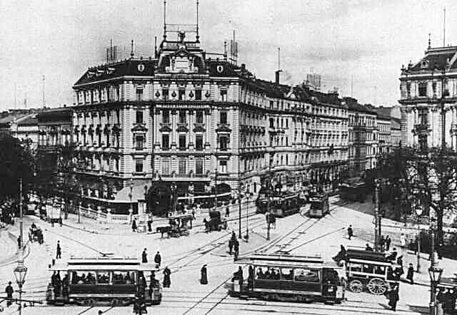 Potsdamer Platz en 1903-Berlín.