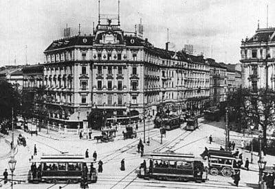 Potsdamer Platz en 1903,Berlín