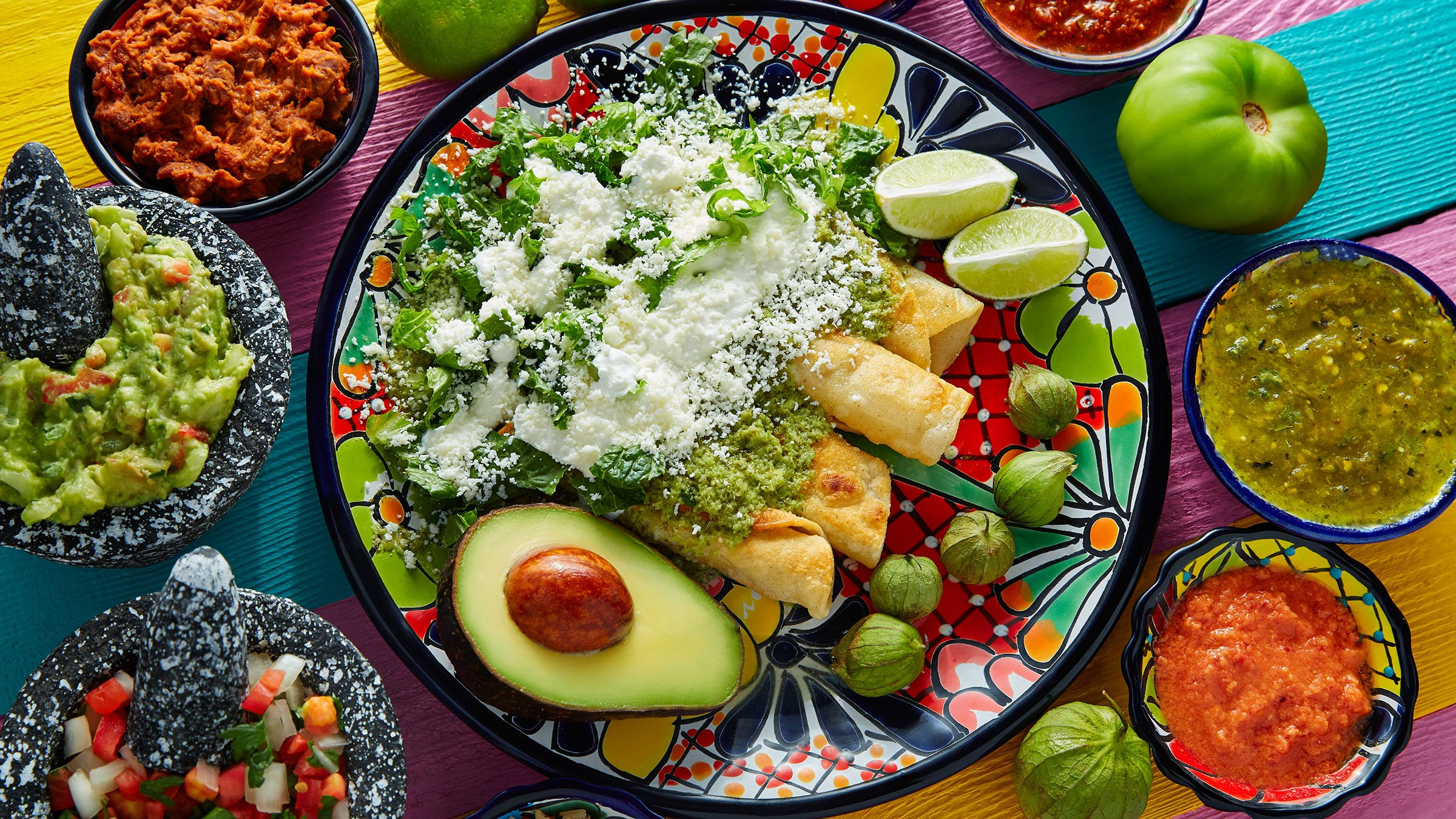 Comida típica de México: la enchilada