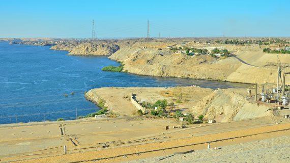 Presa de Asuán, Egipto