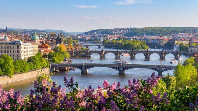 春天在布拉格