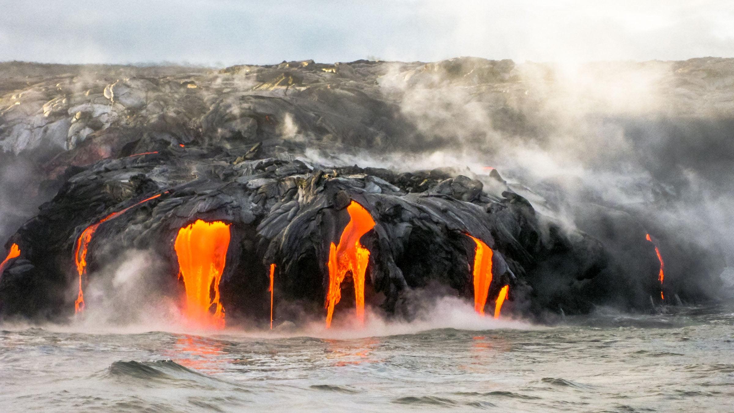 principales volcanes del mundo Kilauea