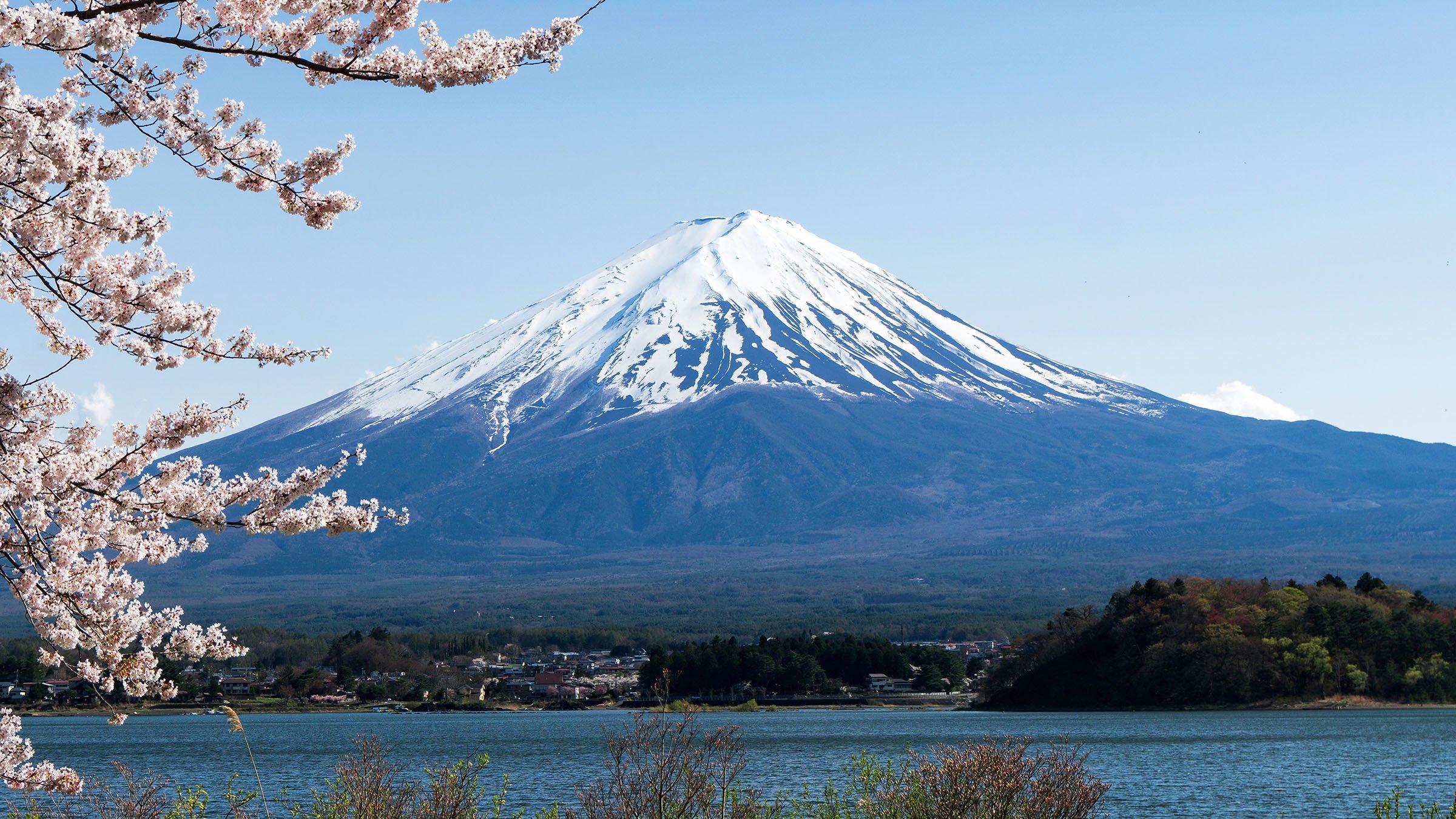 principales volcanes del mundo monte Fuji