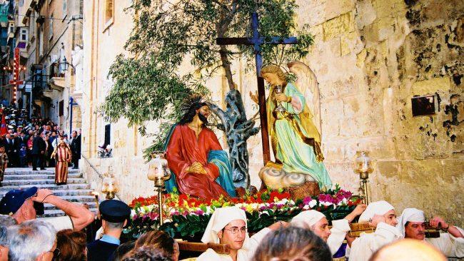 Procesión de Semana Santa en Malta