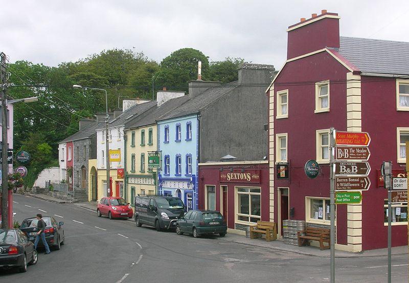 Pueblo de Irlanda