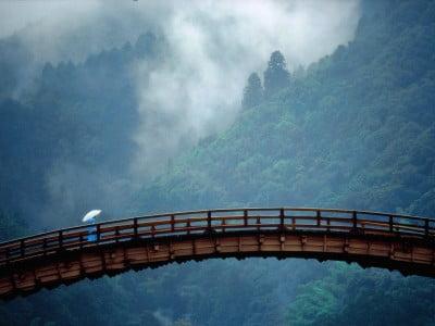 Puente Kintai en Japón