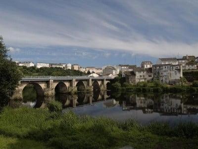 Puente romano sobre el Miño, Lugo