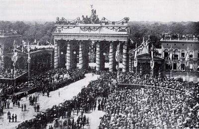Puerta Brandebrugo en Berlín