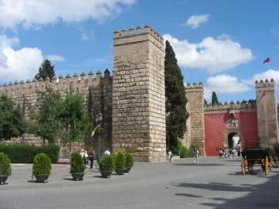 Puerta del León del Alcázar