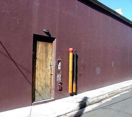 Puerta del Estudio de Brett Whiteley