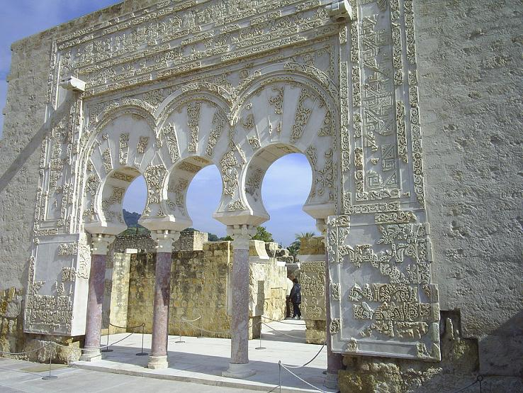 Puerta en Medina Azahara