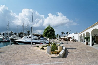 Puerto de Formentera