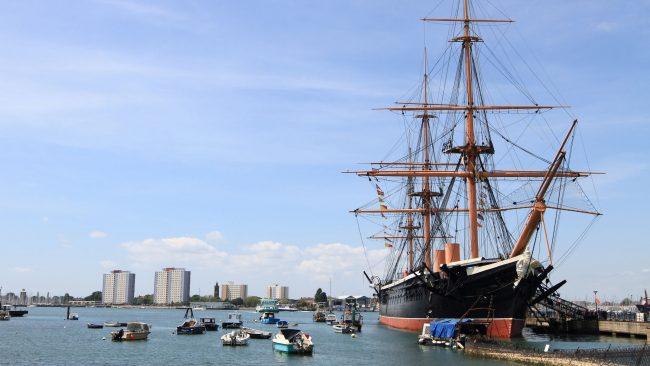 Puerto de Portsmouth, Inglaterra