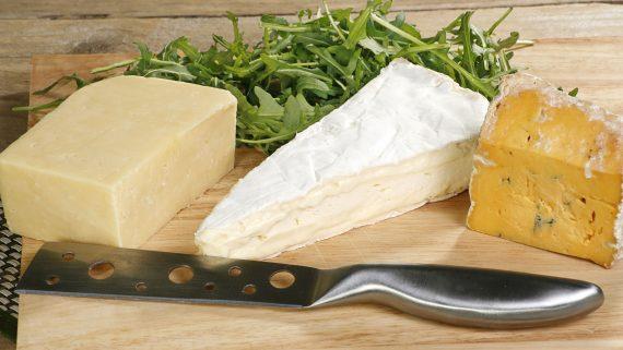 切達干酪,薩默塞特干酪和薩羅普郡藍紋奶酪