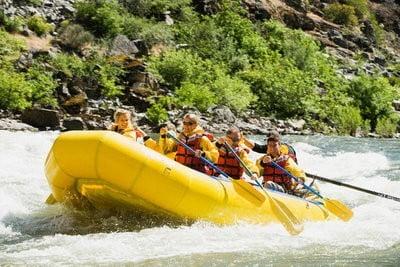 Rafting Aventura  balsa