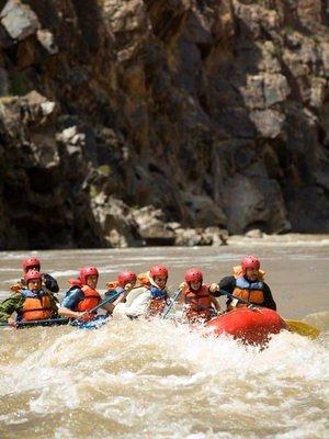 Rafting Aventura  en grupo