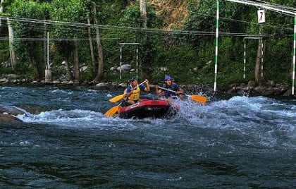 rafting en Madrid