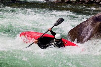 rafting en Galicia deporte extremo